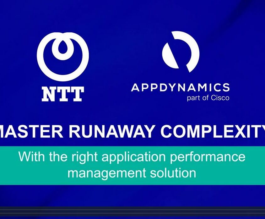 AppDynamics and NTT – Video