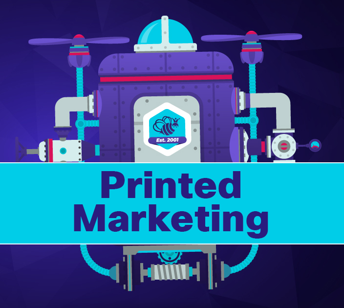 Our Favorite Projects of the Past 20 Years: Printed Marketing