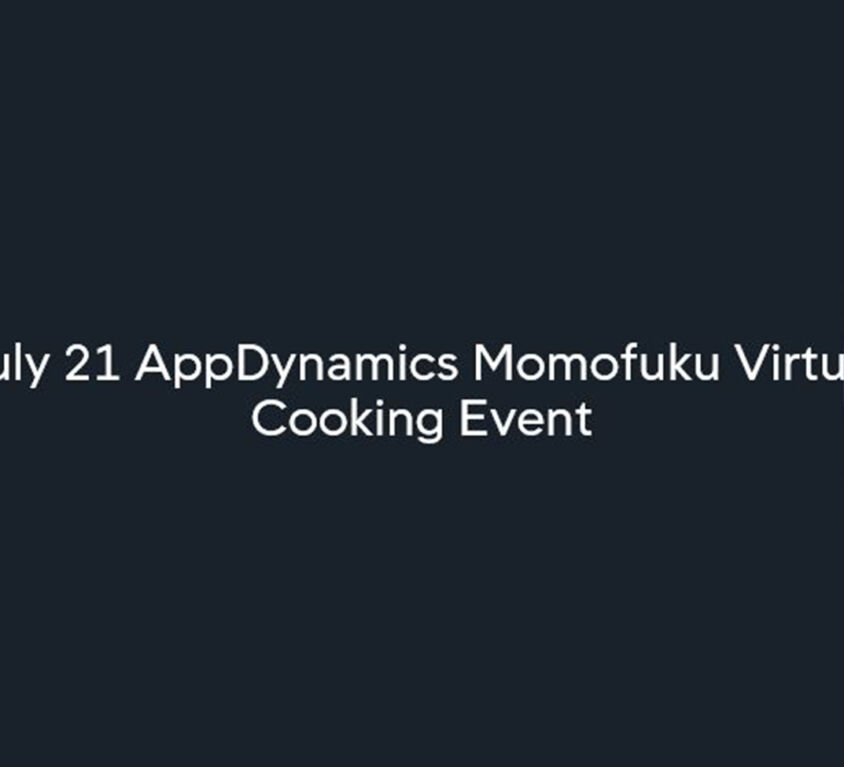 AppDynamics Guided Cooking experience with Wolfgang Puck